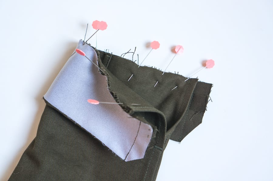 Kelly Anorak Sewalong // Sewing the cuffs // Closet Case Patterns