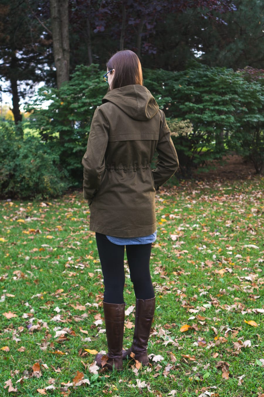 Cotton twill Kelly Anorak // Waterproof raincoat pattern // handmade by Closet Case Patterns