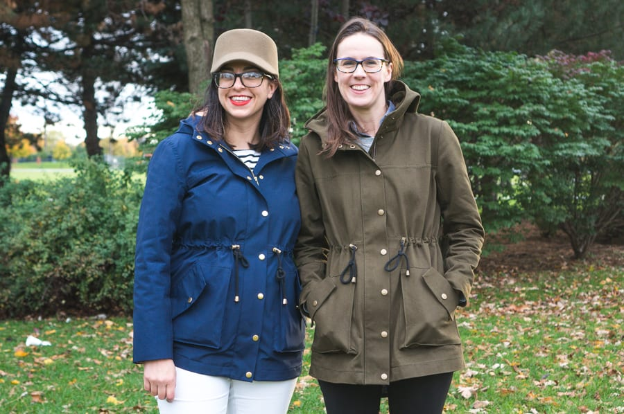 Waterproof Kelly Anorak // Waterproof raincoat pattern // handmade by Closet Case Patterns