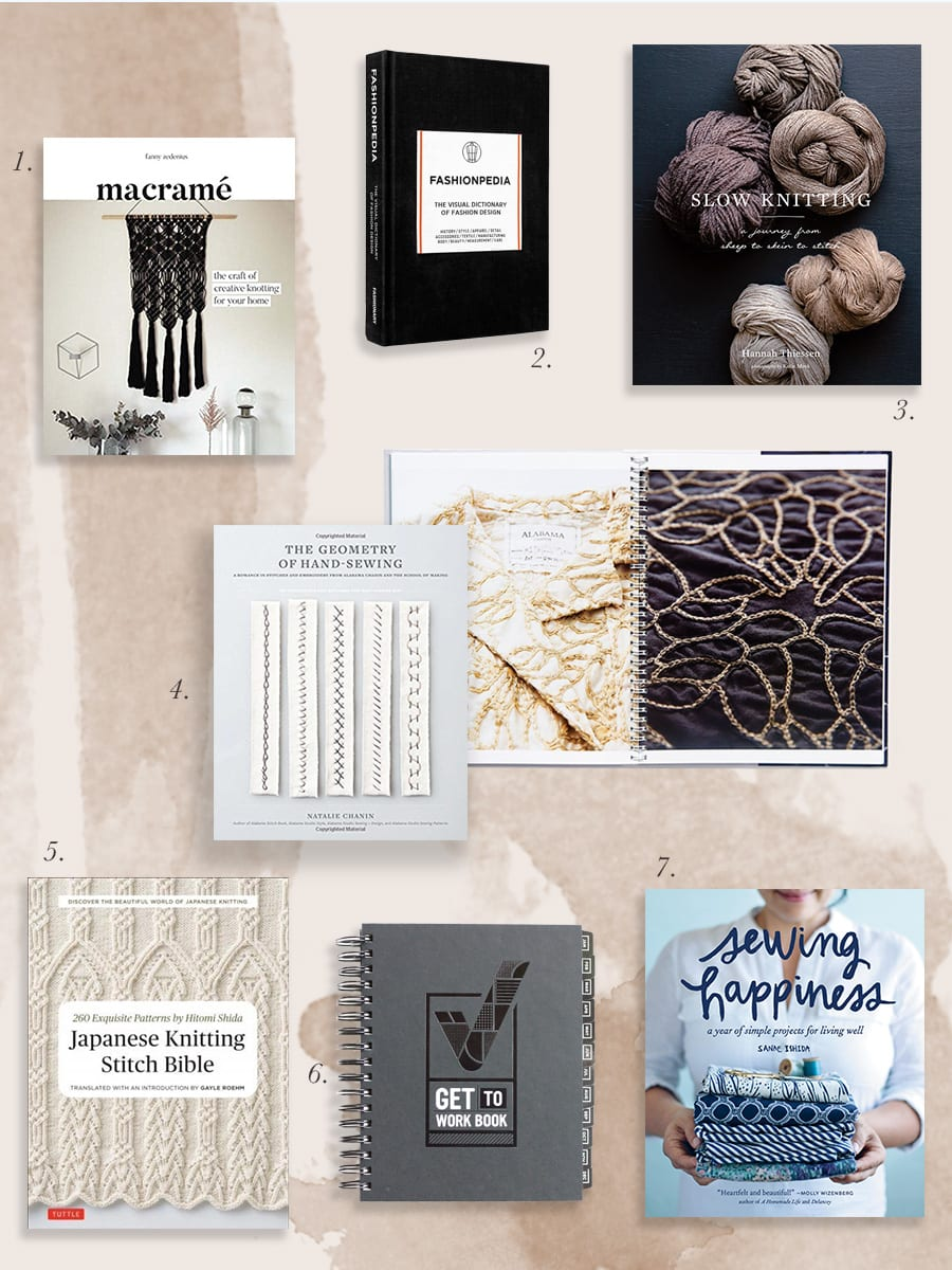 Holiday Gift Guide // Craft Books // Gifts for makers, sewists and knitters // Closet Case Patterns