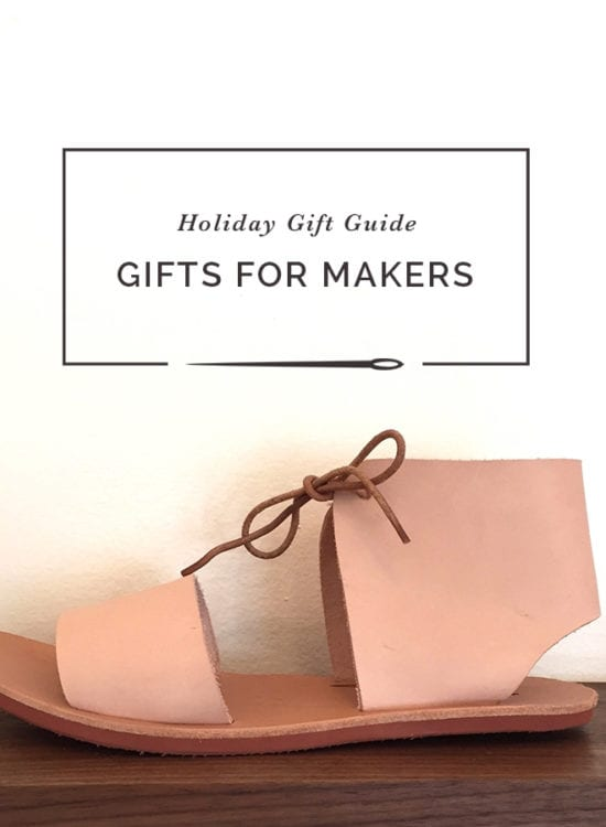 Holiday Gift Guide // Gifts for makers, sewists and knitters // Closet Case Patterns