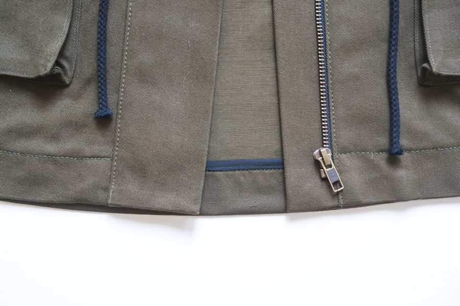 Kelly Anorak Sewalong // How to sew a zipper placket // Closet Case Patterns