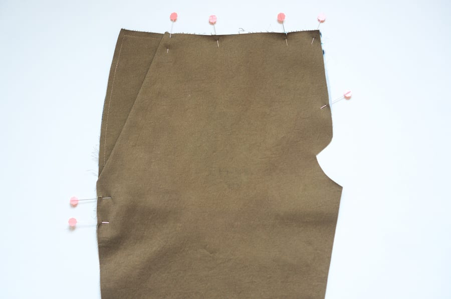 Sasha Trousers // Sewing slanted pockets no gaping // Closet Case Patterns