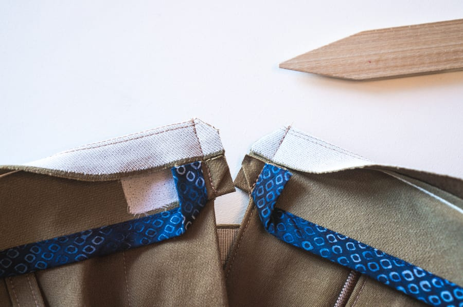 Sasha Trousers // Sewing a pants waistband // Closet Case Patterns