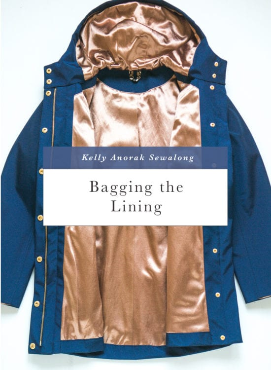 Bagging the lining for the Kelly Anorak // Kelly Anorak sewalong // Closet Case Patterns
