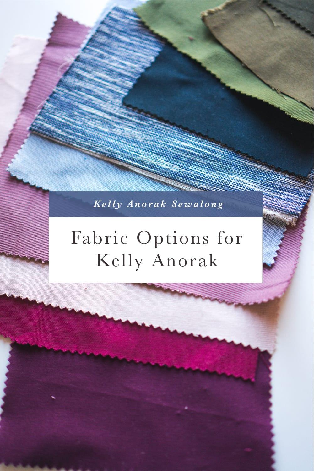 Fabric options for Kelly Anorak // Kelly Anorak Sewalong // Closet Case Patterns