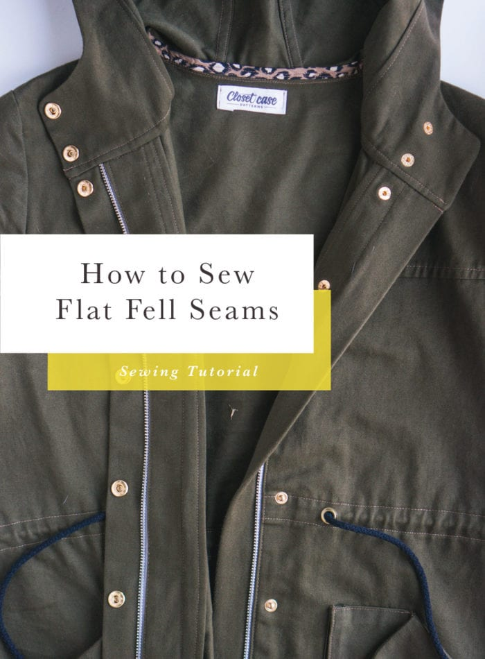 How to Sew Flat Fell Seams