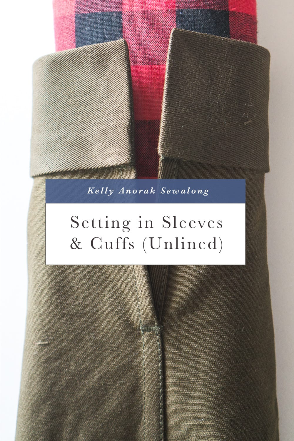 Setting in sleeves and sewing jacket cuffs // Closet Case Patterns