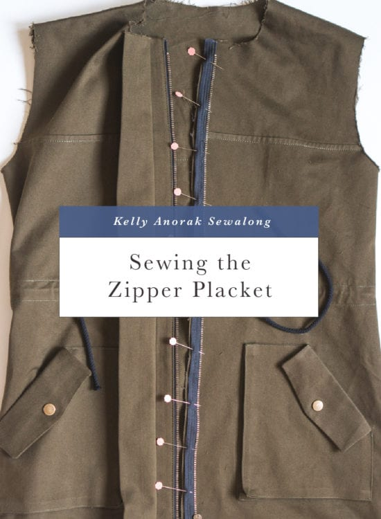 How to sew a zipper placket // Closet Case Patterns
