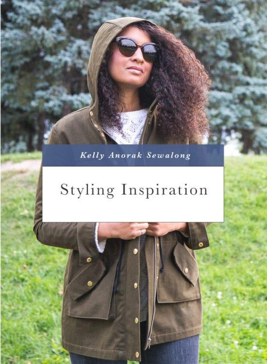 Styling Inspiration for Kelly Anorak // Closet Case Patterns