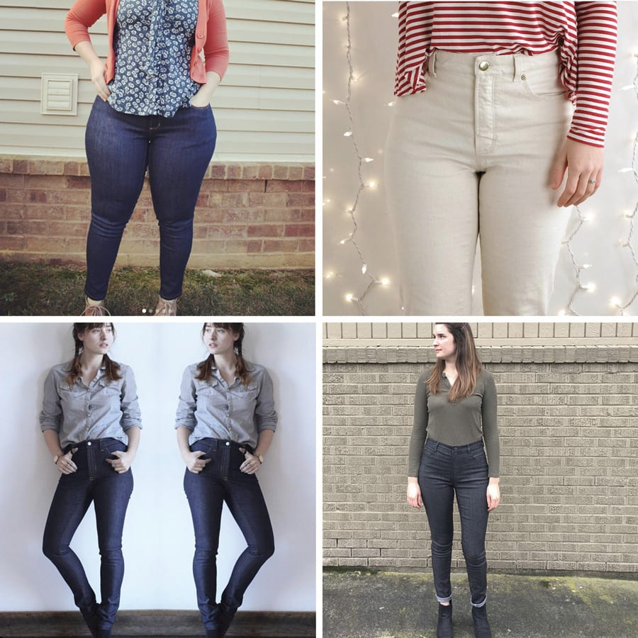 Ginger Jeans // Closet Case Patterns