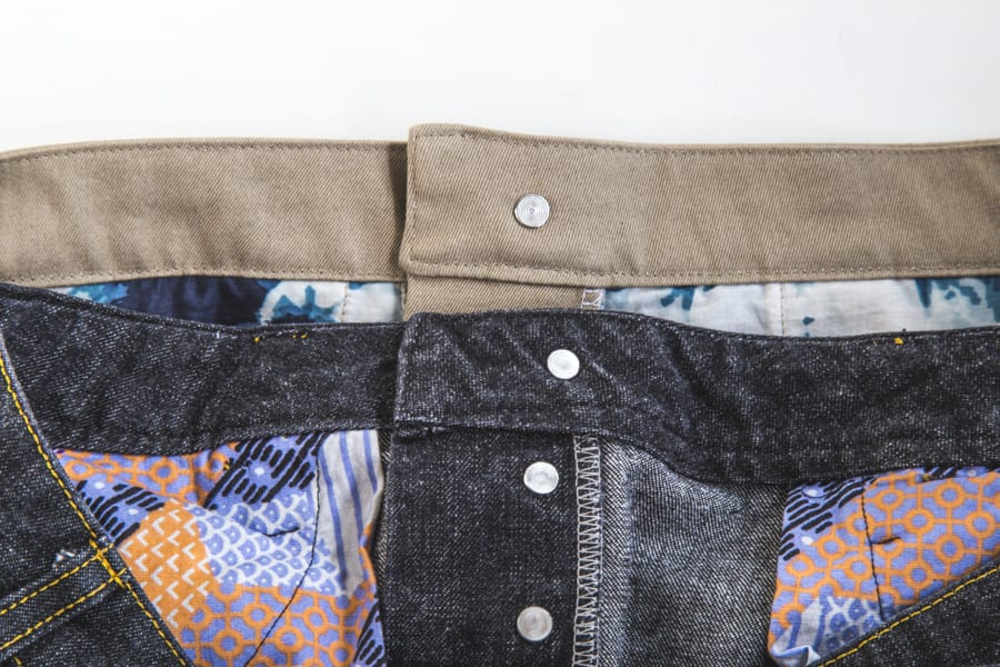 How to sew a jeans waistband // Sewing tutorial // Closet Case Patterns