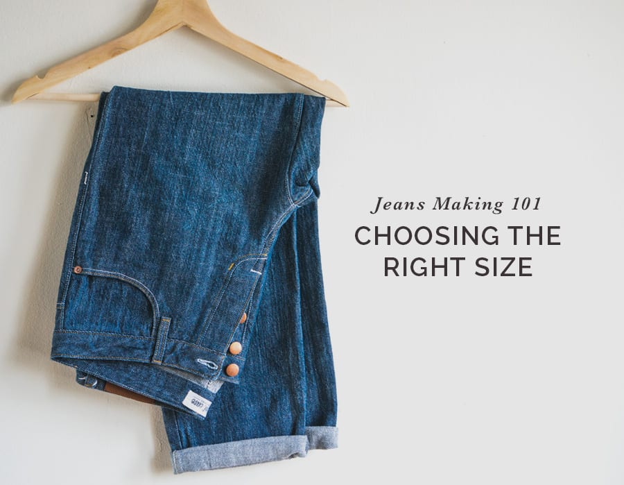 Choosing the right size when making jeans // Closet Case Patterns