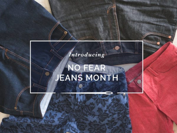 Introducing No Fear Jeans Month // Closet Case Patterns