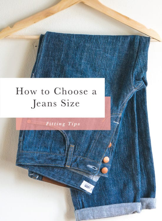 How to Choose the right size when making Jeans // Closet Case Patterns