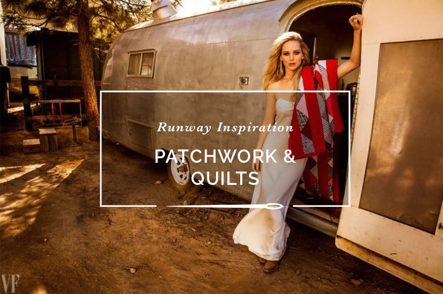 Craft and quilt traditions in Runway Fashion // Closet Case Patterns
