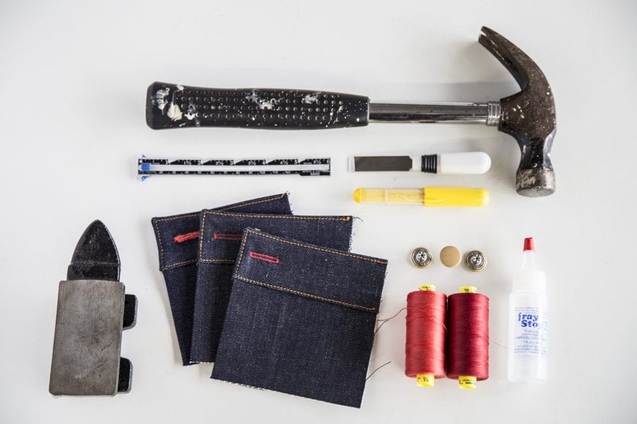 Tips for sewing buttonhole for jeans // Closet Case Patterns