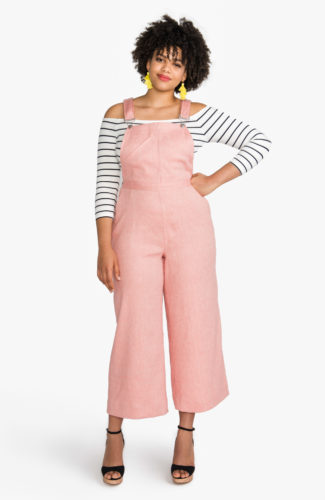 Jenny Overalls Pattern | Dungarees Pattern | Cropped culottes