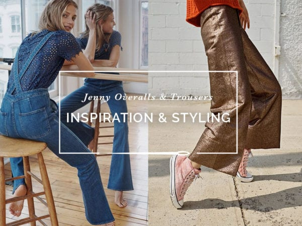 How to wear Overalls & Wide Leg Trousers // Overalls outfit // Jenny Overalls & Trouser Pattern // Closet Case Patterns