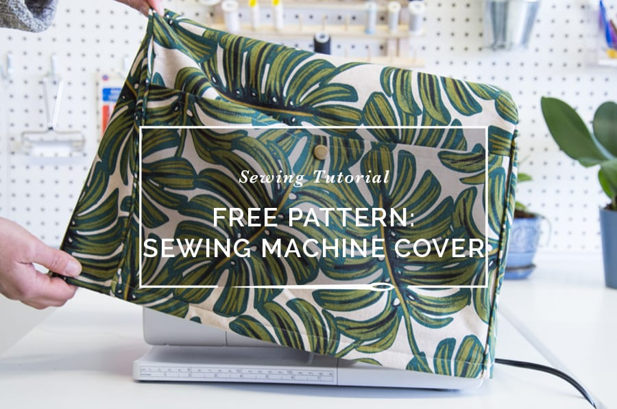 Free Pattern Alert! Make our Serger & Sewing Machine Cover | Closet ...