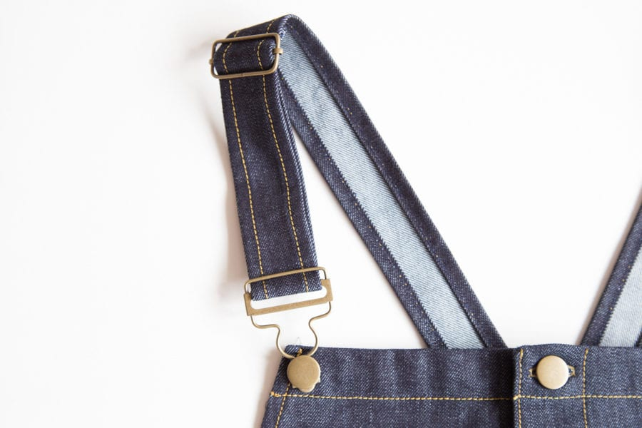 How to Install Overall Buckles & Hardware | Closet Case Patterns