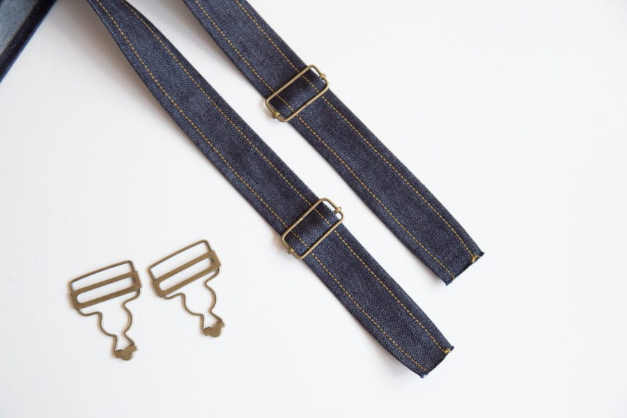 How to Install Overalls Strap Hardware // Closet Case Patterns
