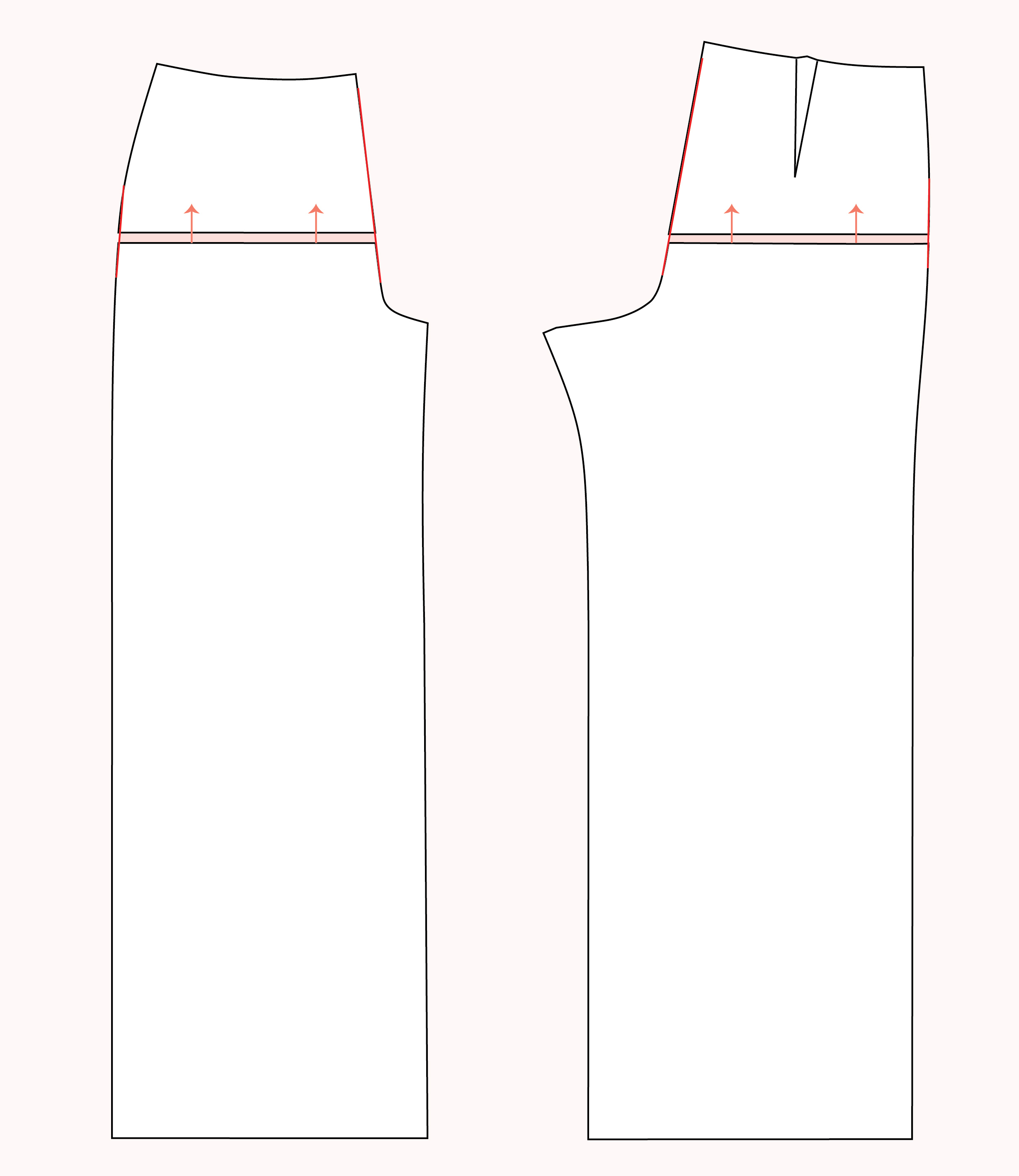 Lengthen crotch | Pants Fitting Tips // Jenny Overalls & Trousers Pattern // Closet Case Patterns