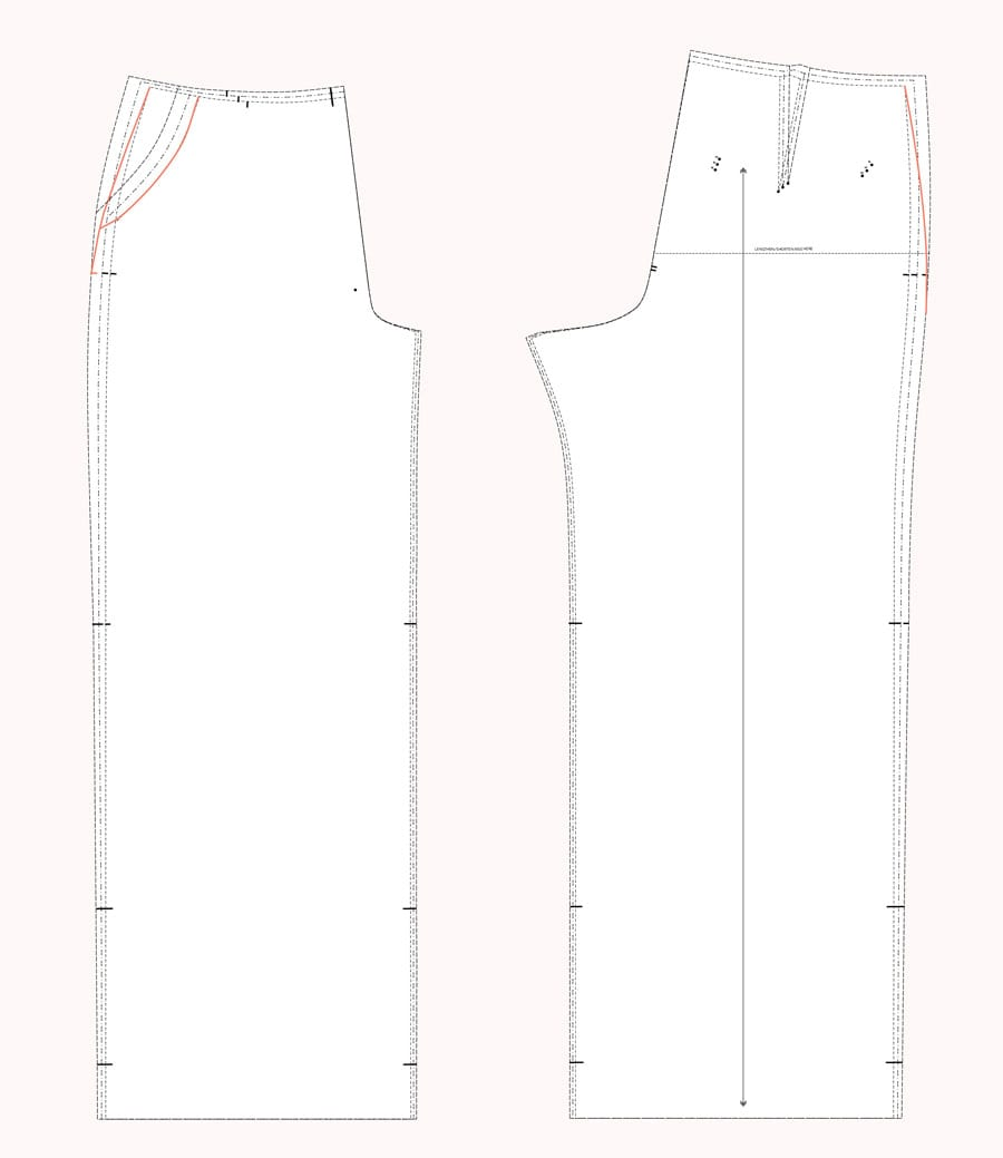 Grading Between Sizes | Pants Fitting Tips // Jenny Overalls & Trousers Pattern // Closet Case Patterns