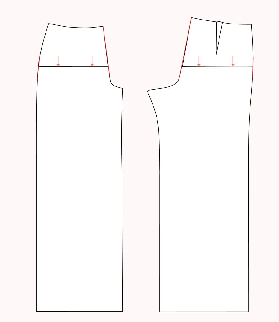 Shorten crotch | Pants Fitting Tips // Jenny Overalls & Trousers Pattern // Closet Case Patterns