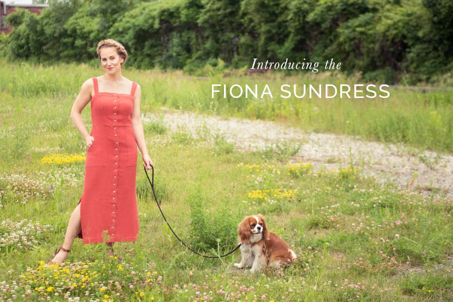 Fiona Sundress Pattern // Two bodice and three skirt options // Closet Case Patterns