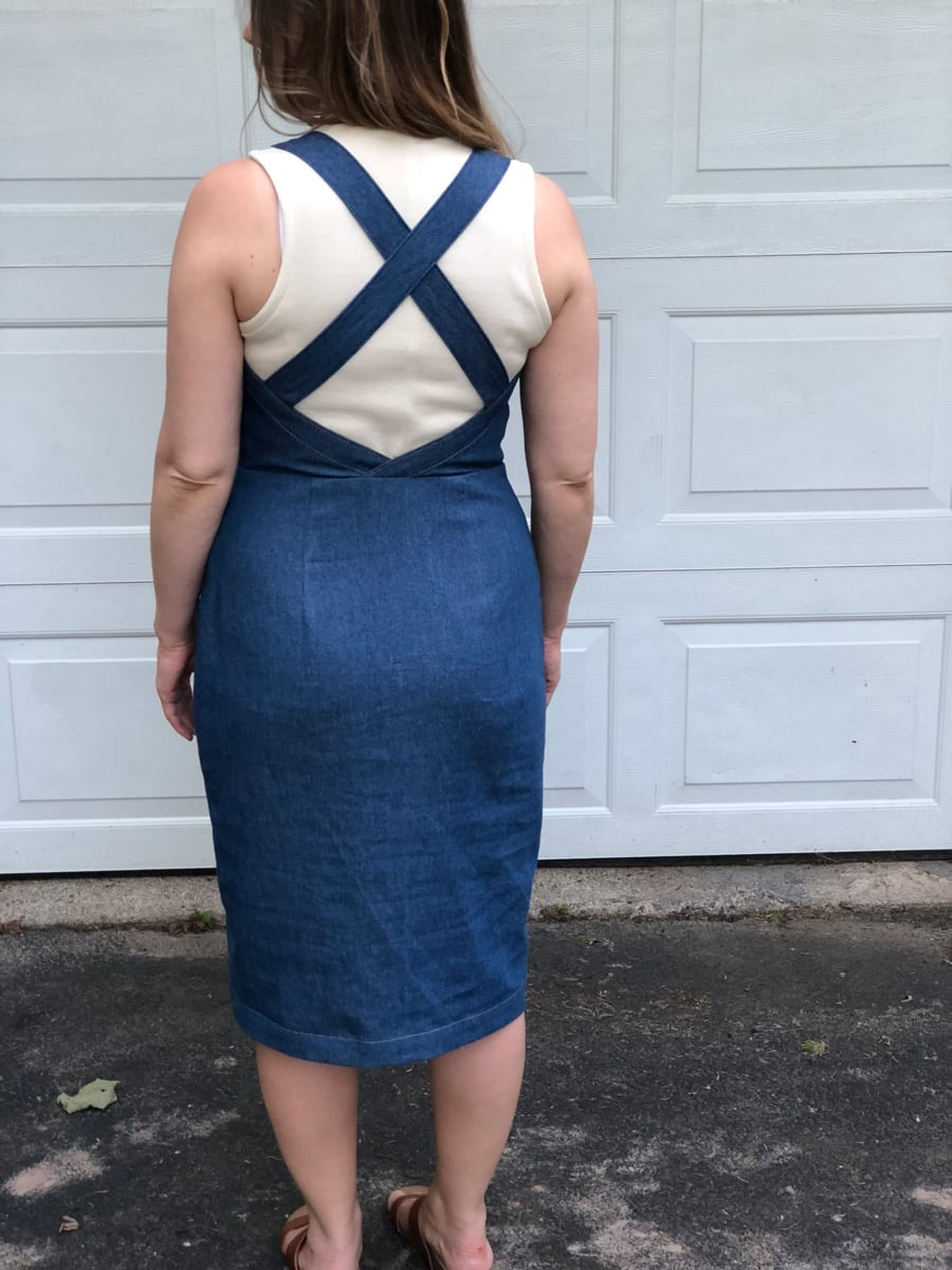 Fiona Sundress pattern by Closet Case Patterns