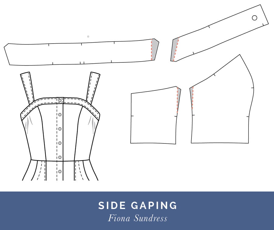Side Gaping // Fitting a Princess Seam Dress // Closet Case Patterns