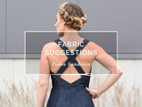 Fabric Options // Fiona Sundress // Closet Case Patterns