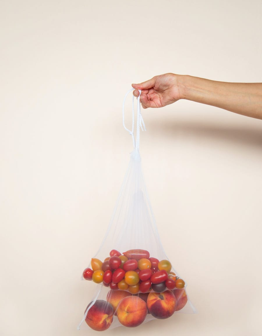 Enter Zero Waste Reusable Produce Bags You Can Batch Sew A Bunch Throw Few In The Bottom Of Your Ping Tote And Then Use Wash Them As Needed