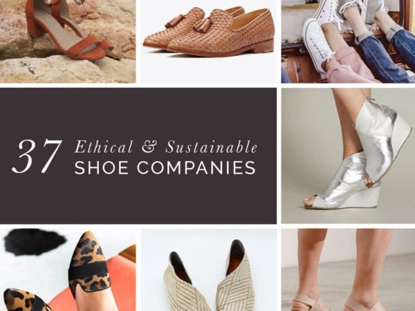 Ultimate list of 37 Ethical Shoe Companies! Includes vegan shoes, leather shoes and boots, sandals, clogs & sneakers