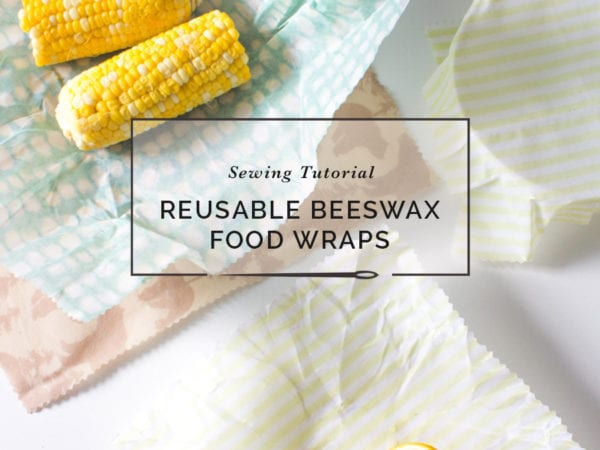 DIY Reusable Beeswax Food Wrap // Closet Case Patterns