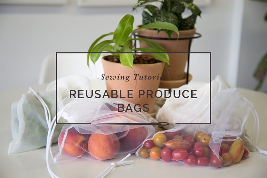 DIY Reusable Produce Bags // Closet Case Patterns