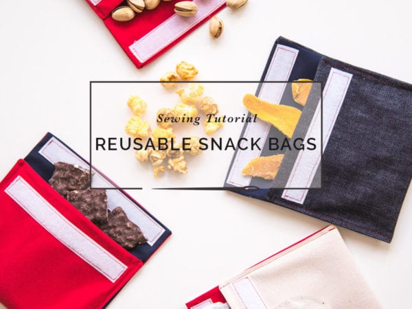 Reusable Snack Bag DIY // Closet Case Patterns