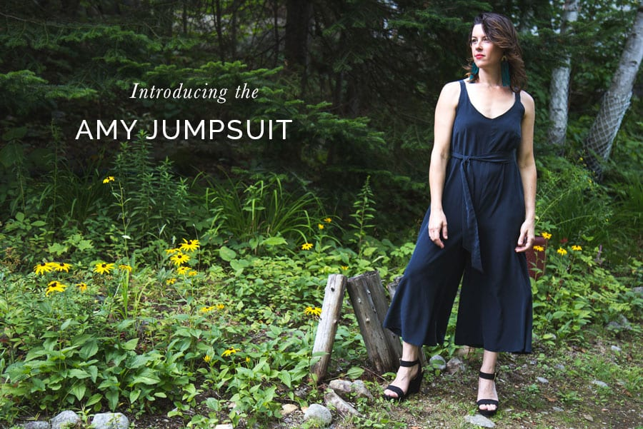 Amy Jumpsuit Pattern // Closet Case Patterns