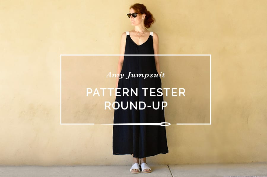 Amy Jumpsuit Pattern Tester Round-up // Closet Case Patterns