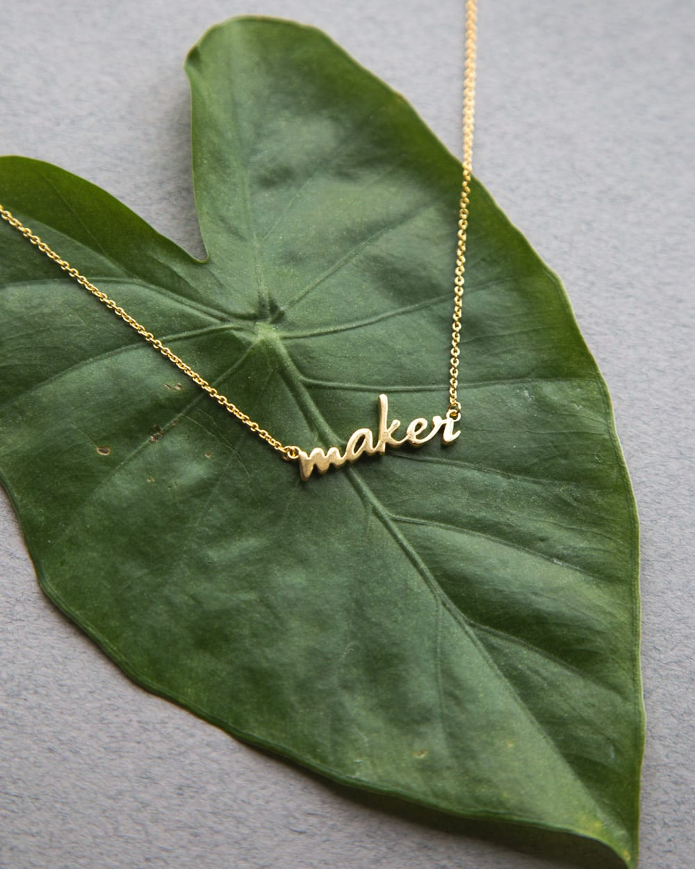 Maker & Sewist necklaces from Closet Case Patterns