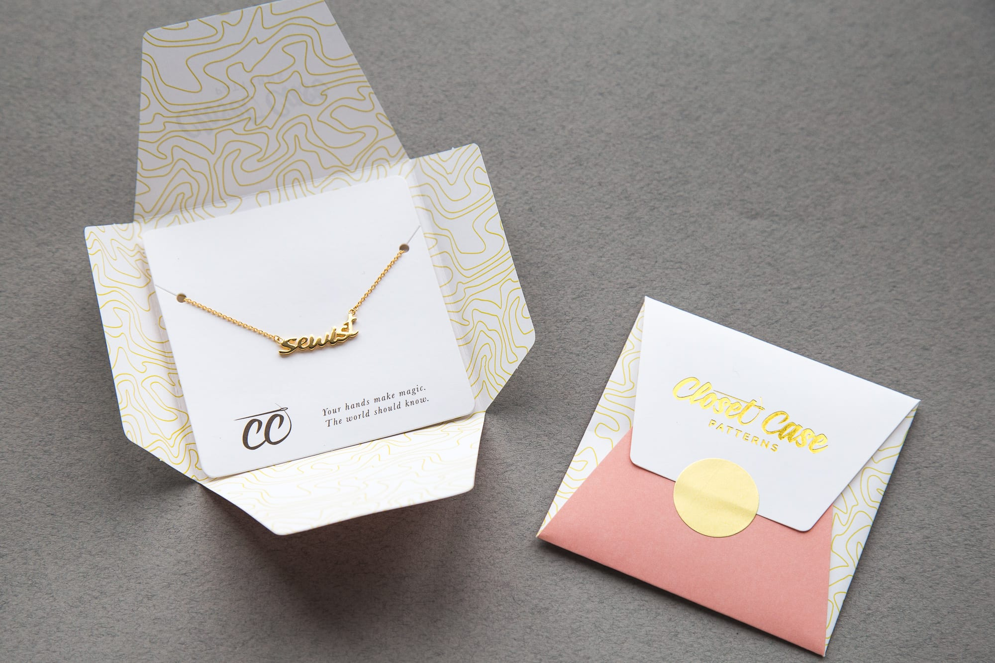 The Story Behind our New Sewist and Maker Necklaces | Closet Case
