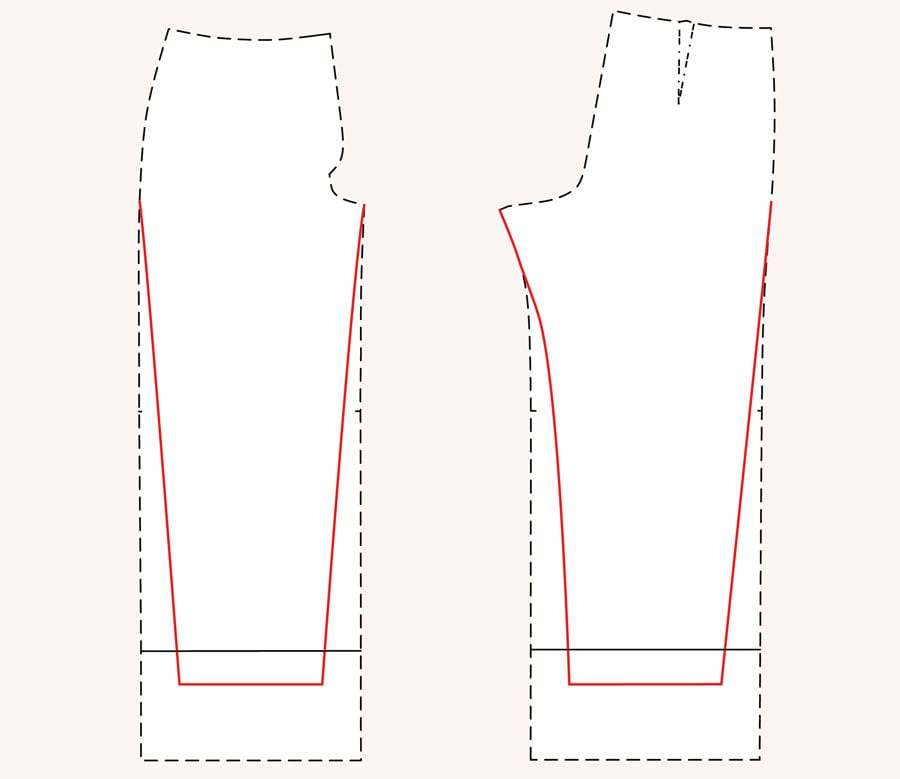 Jenny Overalls pattern with Tapered Leg // Closet Case Patterns