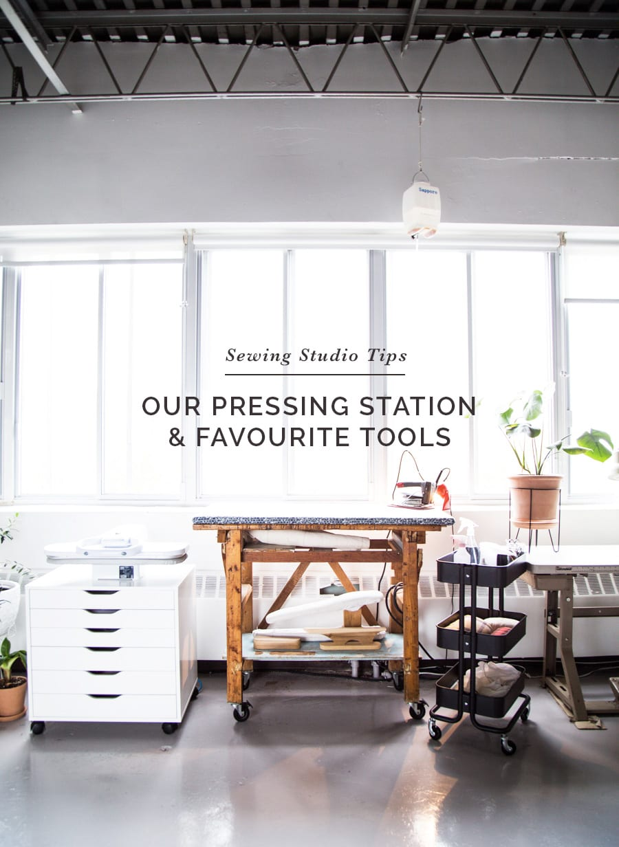 Best irons for serious sewing // Our Pressing station at Closet Case Patterns