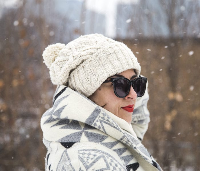Skiff hat pattern from Brooklyn Tweed // Hand knit by Closet Case Patterns
