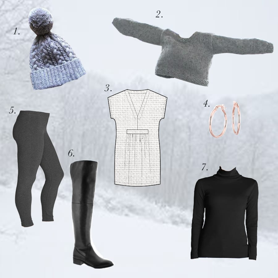 Winter Outfits // Winter Layering // Closet Case Patterns