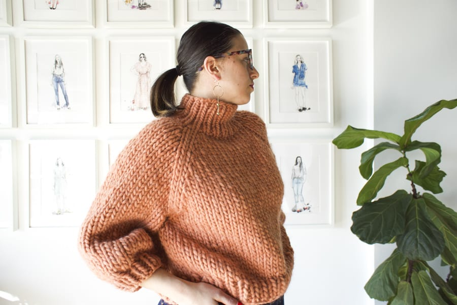 Strathcona Sweater from Good Night Day // Handmade by Closet Case Patterns