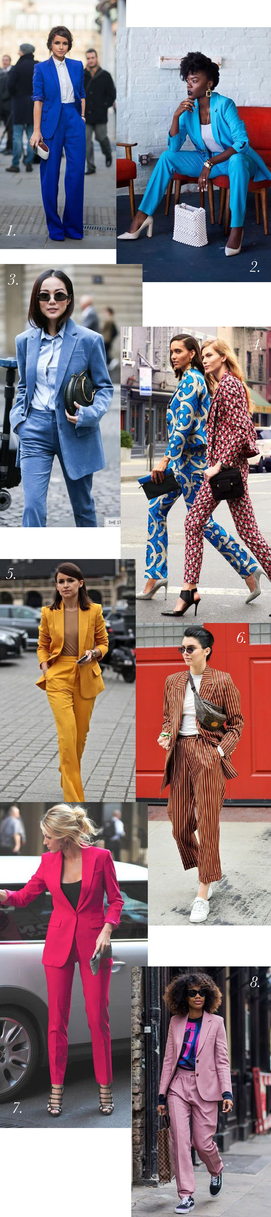 How to Style a Colourful suit // Blazer outfits ideas for Jasika Blazer from Closet Case Patterns