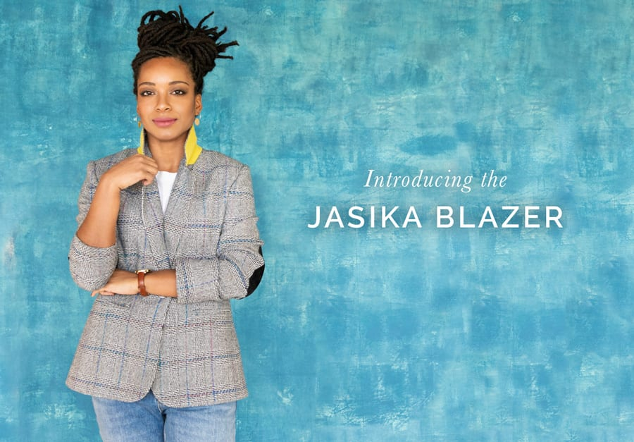 Jasika Blazer Pattern by Closet Case Patterns