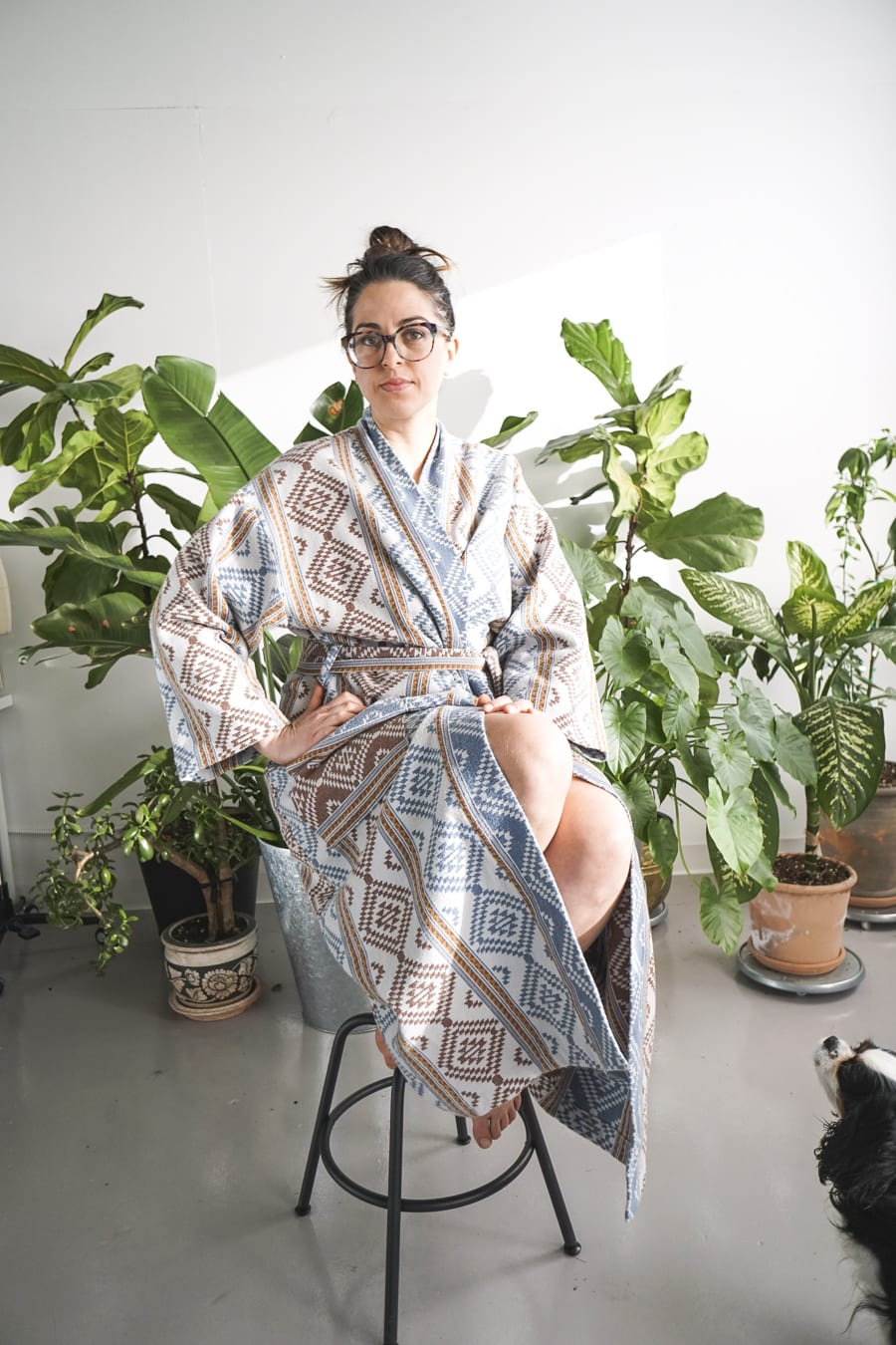 The Bathrobe Of Dreams Lahja Dressing Gown With Robert